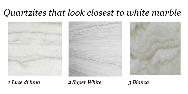 Marble Look Quartz Countertops : On the prowl alternatives to white marble countertops