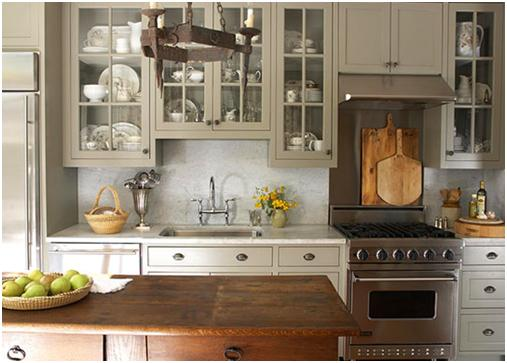 Roomology Loves: Kitchens Where The Upper And Lower Cabinets Are Two Different  Colors | Roomology