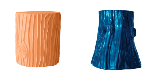 best colored stump stools