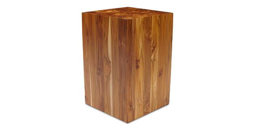 best square stump stool