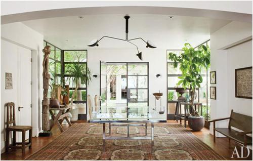 Roomology loves ping pong tables in interior design for Ellen brotman interior designs
