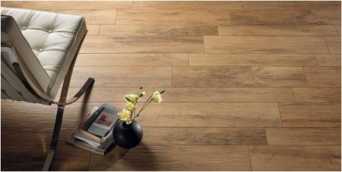 ... was the gorgeous ceramic tiles I saw that look like wood. If you don't  believe me, see if you can tell the real wood floors from the faux tiles  below… - Up For Debate: Hardwood Floors V. Tiles That Look Like Wood