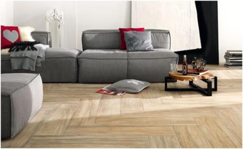 novabell ceramiche has three lines of wood look tiles including the above pictured herringbone pattern - Wood Tile Floor Living Room