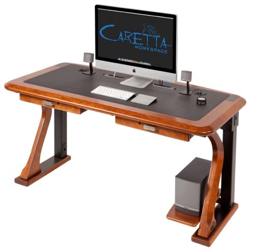 Roomology Loves Desks That Hide Power Cords Roomology