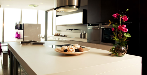 White Neolith Countertop