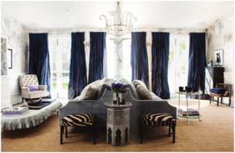 navy-curtain-living-room