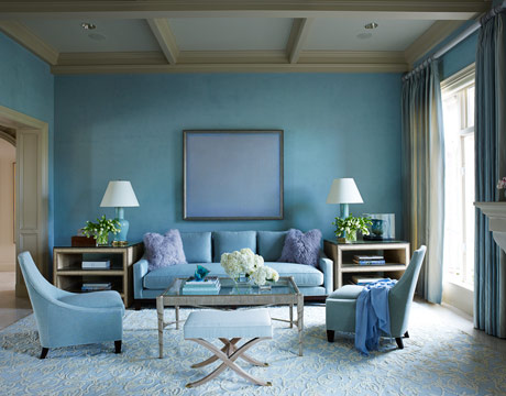 Monochromatic Color Scheme Living Room living rooms | roomology